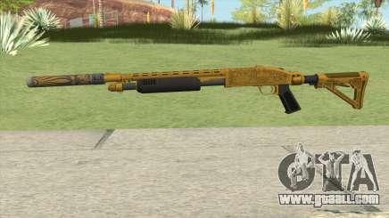 Shrewsbury Pump Shotgun (Luxury Finish) GTA V V5 for GTA San Andreas