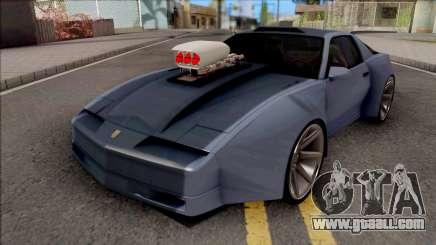 Pontiac Trans AM 1987 Coupe for GTA San Andreas