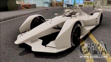 Spark SRT05e 2018 Formula E for GTA San Andreas