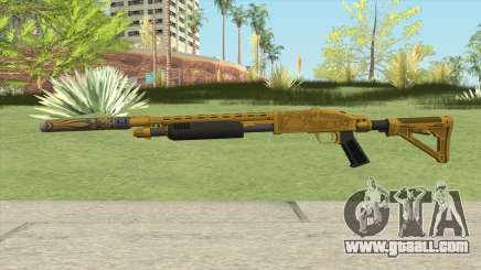 Shrewsbury Pump Shotgun (Luxury Finish) GTA V V2 for GTA San Andreas