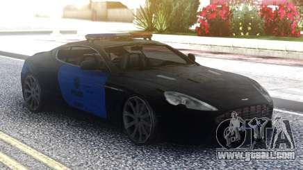 Aston Martin DB9 2013 LAPD for GTA San Andreas