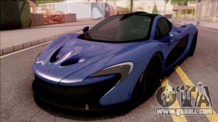 Mclaren P1 Stock for GTA San Andreas