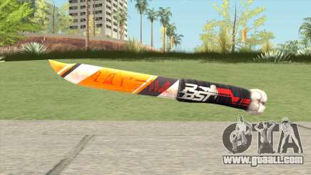 Knife (PBST Series) From Point Blank for GTA San Andreas