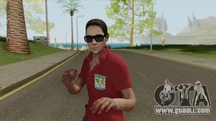 Forca Nacional Pericia Skin for GTA San Andreas