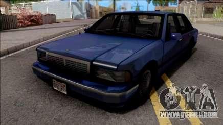 Сhevrolet Caprice 1992 SA Style for GTA San Andreas