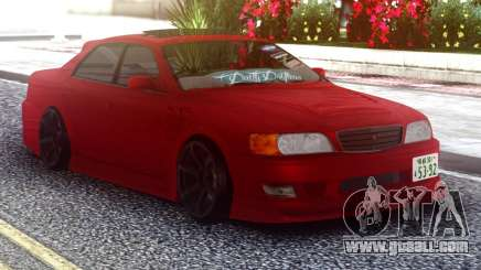 Toyota Chaser Red Sedan for GTA San Andreas