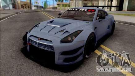 Nissan GT-R Nismo GT3 2014 Paint Job Preset 2 for GTA San Andreas