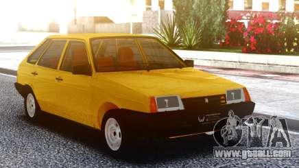VAZ-2108 Yellow for GTA San Andreas