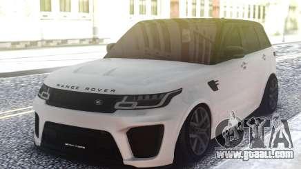 Range Rover Sport SVR Low for GTA San Andreas