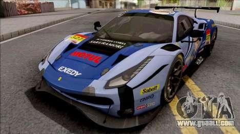 Ferrari 488 GTE Evo 2018 (AF Corse) PJ Preset 3 for GTA San Andreas