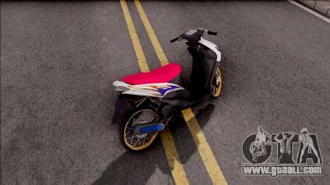 Yamaha Mio MX for GTA San Andreas