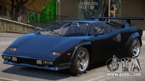 Lamborghini Countach (NFS World) for GTA 4
