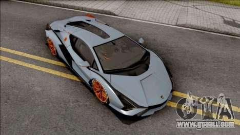 Lamborghini Sian 2020 for GTA San Andreas