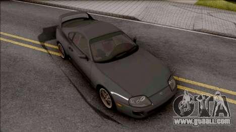 Toyota Supra Mk4 for GTA San Andreas