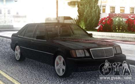 Mercedes-Benz S600 W140 for GTA San Andreas