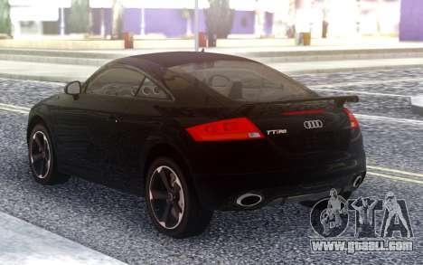 Audi TT RS 2010 for GTA San Andreas
