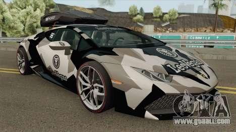 Jon Olsson Lamborghini Huracan LP610-4 2015 for GTA San Andreas