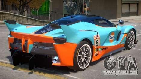 Ferrari FXX-K PJ2 for GTA 4