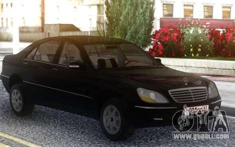 Mercedes-Benz W220 for GTA San Andreas
