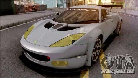 Lotus Evora GX 2012 for GTA San Andreas
