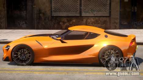 2014 Toyota FT-1 Supra Concept for GTA 4