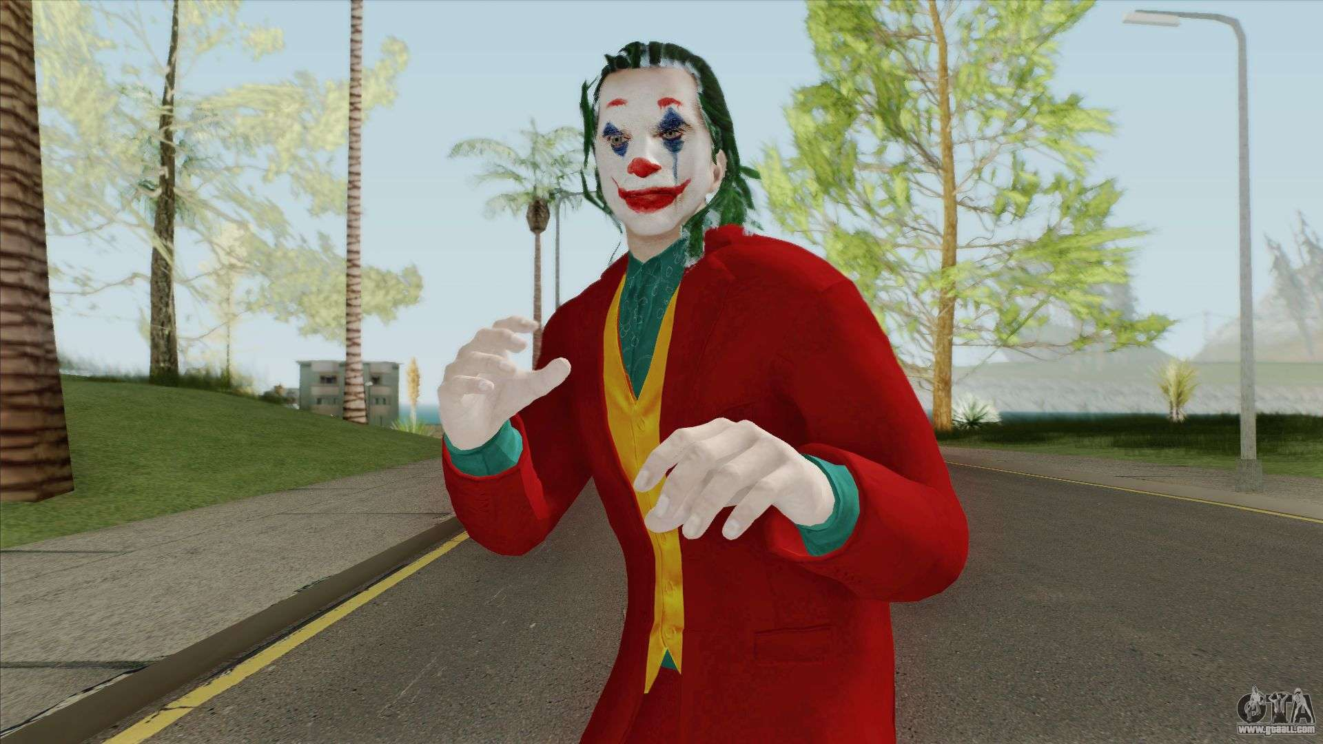Joker 1989 (Jack Nicholson Skin) for GTA San Andreas