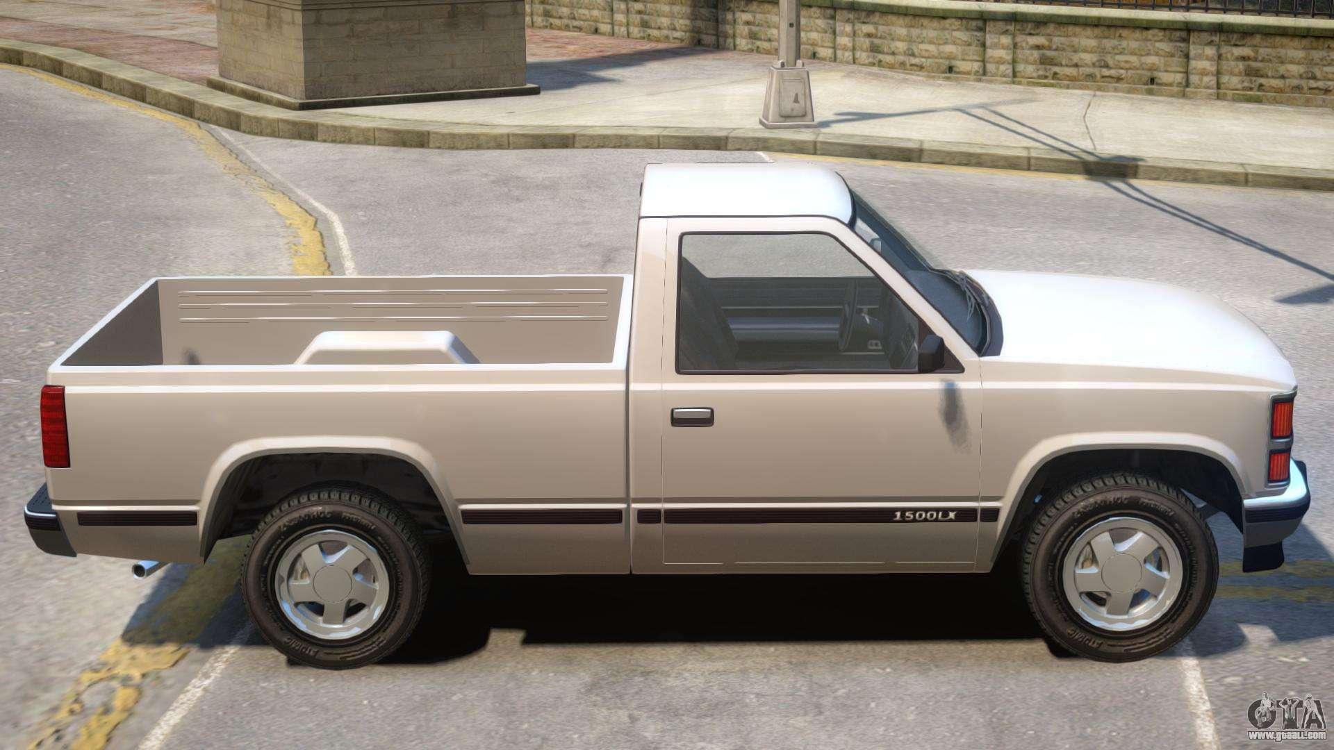 Declasse 1500LX Yosemite Short Bed For GTA 4