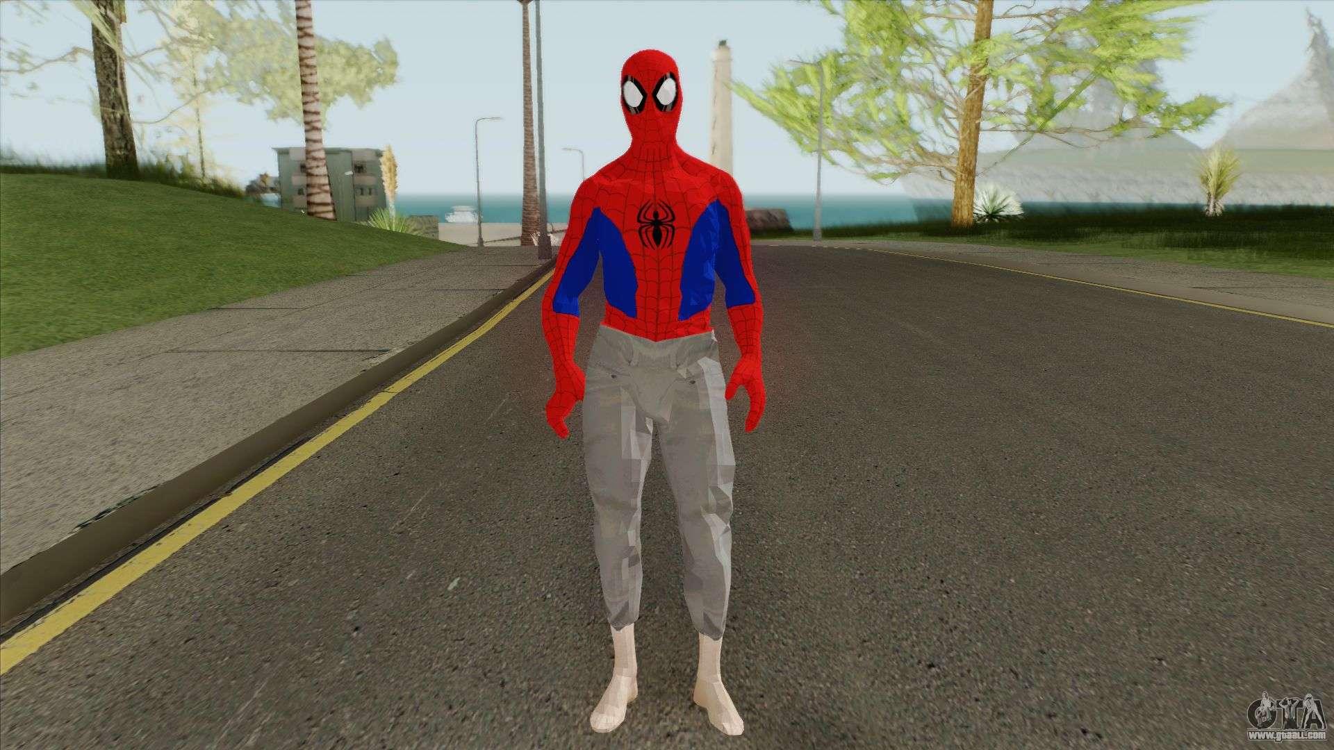 Spider-Man (Marvel Spider-Man ITSV) For GTA San Andreas