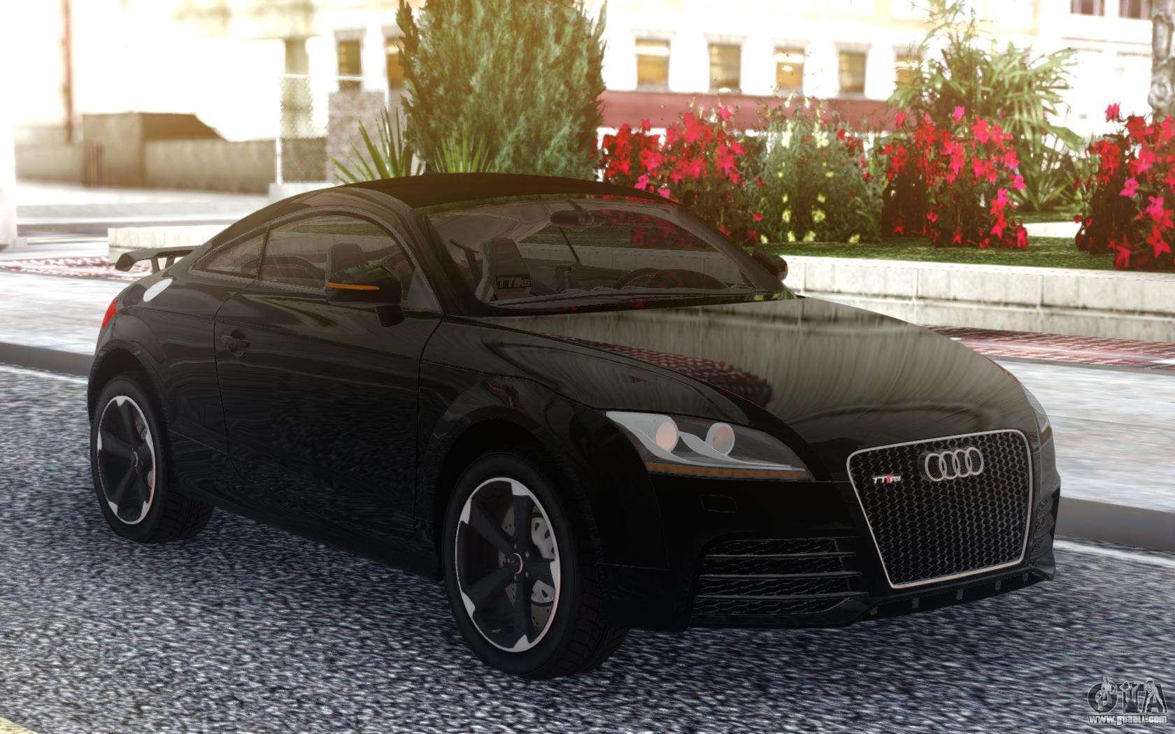 Audi TT RS 2010 Black For GTA San Andreas
