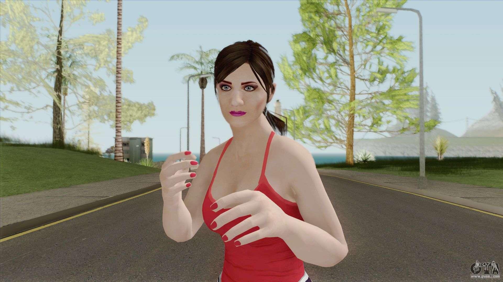 Amanda The Hot Gta V For Gta San Andreas-9186