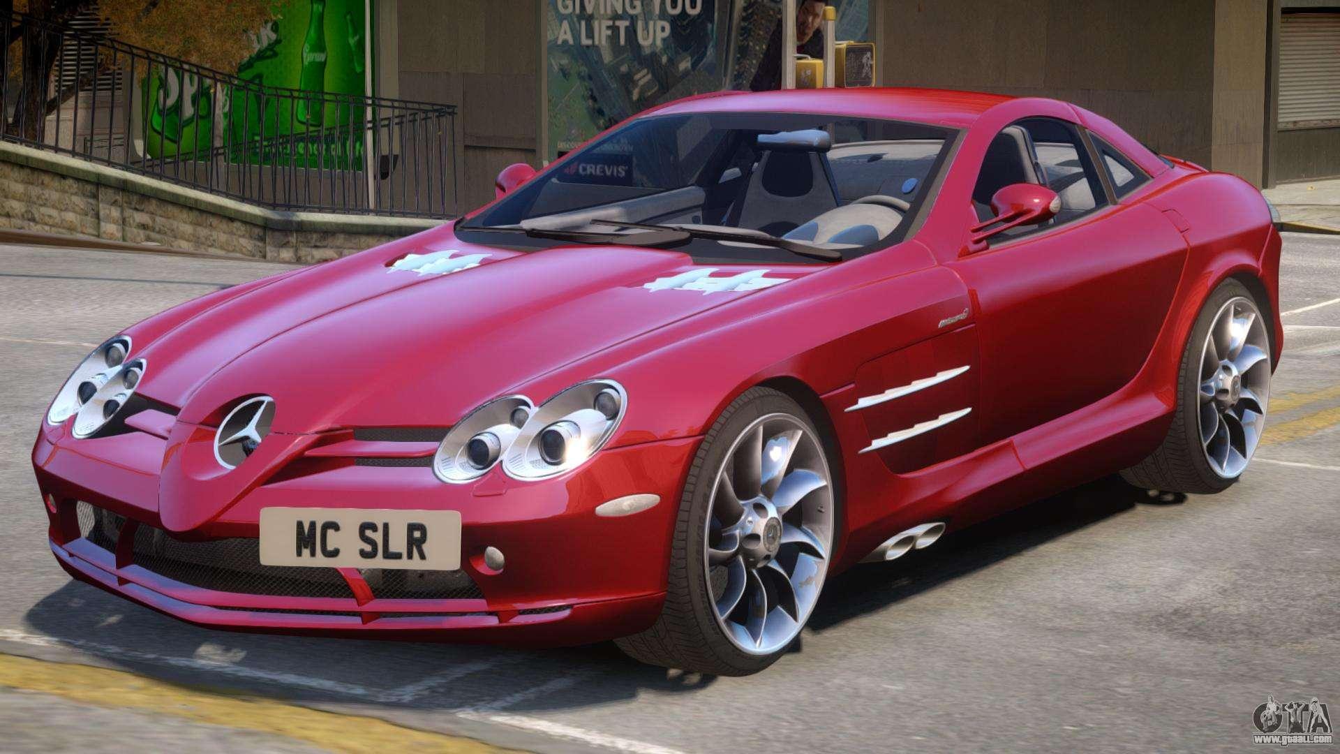 Mercedes Benz SLR V2 for GTA 4