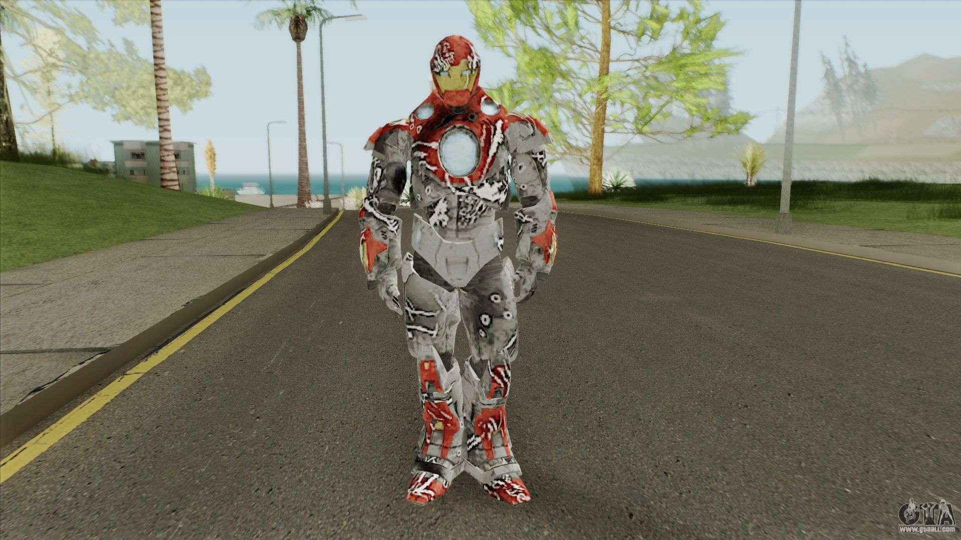 Iron Man V2 (Marvel Ultimate Alliance 3) for GTA San Andreas