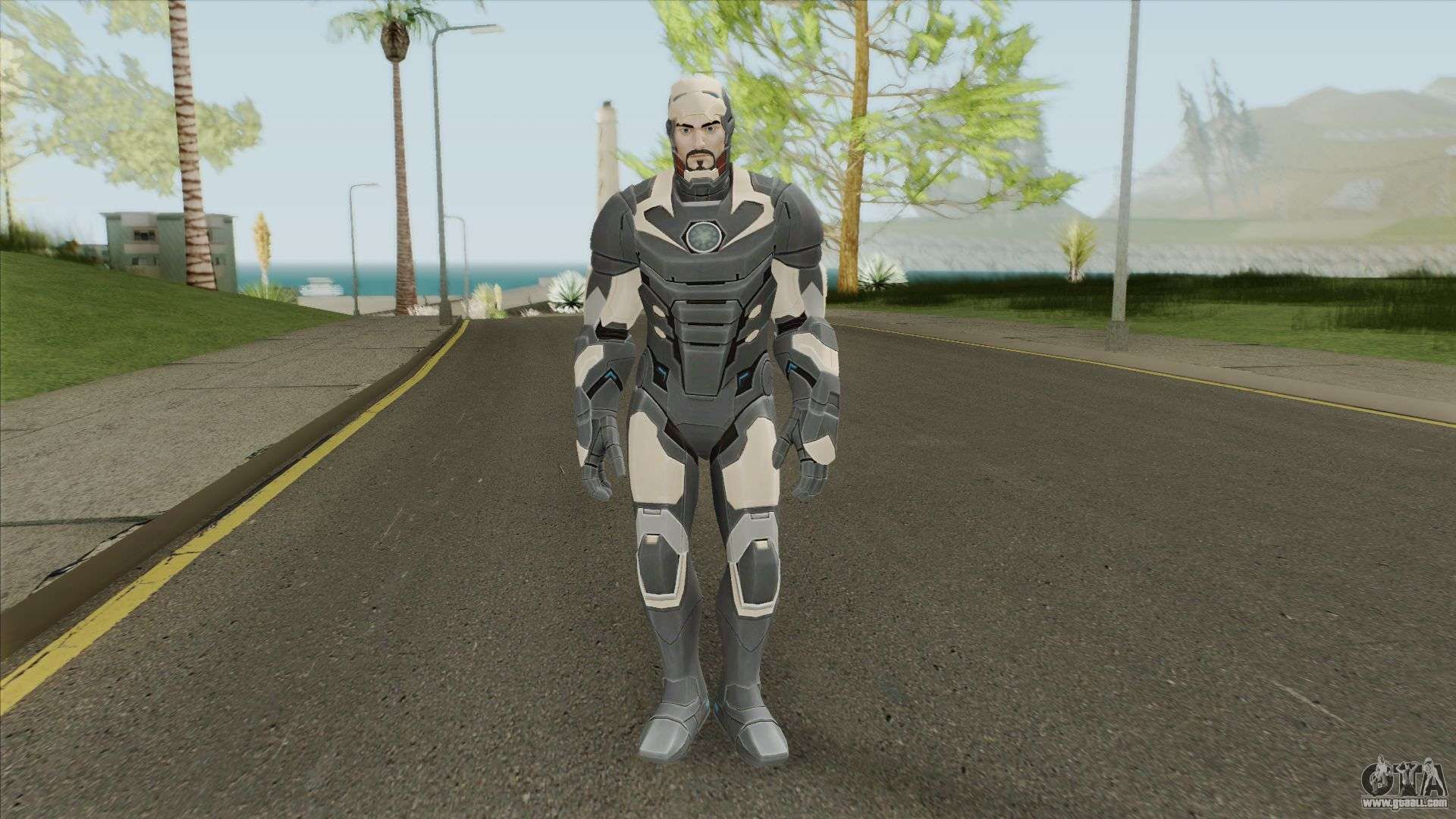 Iron Man V1 (Marvel Ultimate Alliance 3) for GTA San Andreas