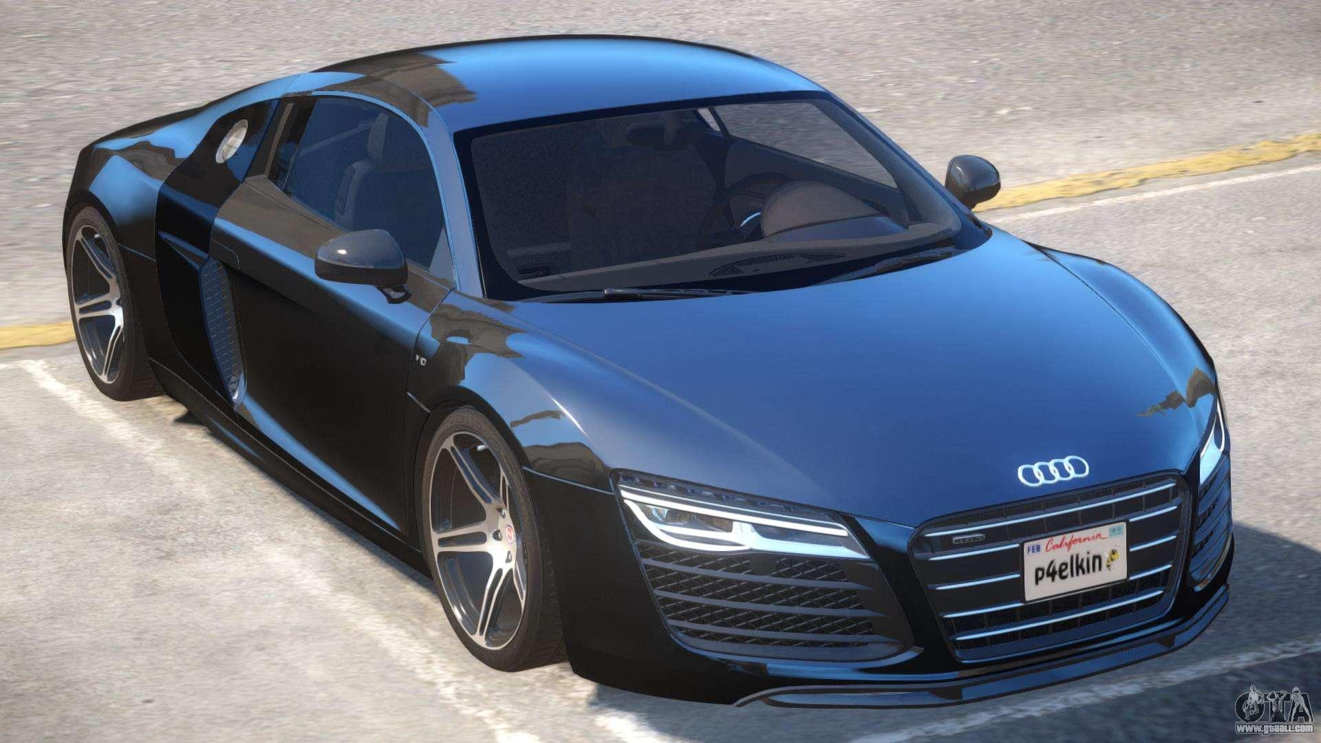 Audi R8 V2 For GTA 4