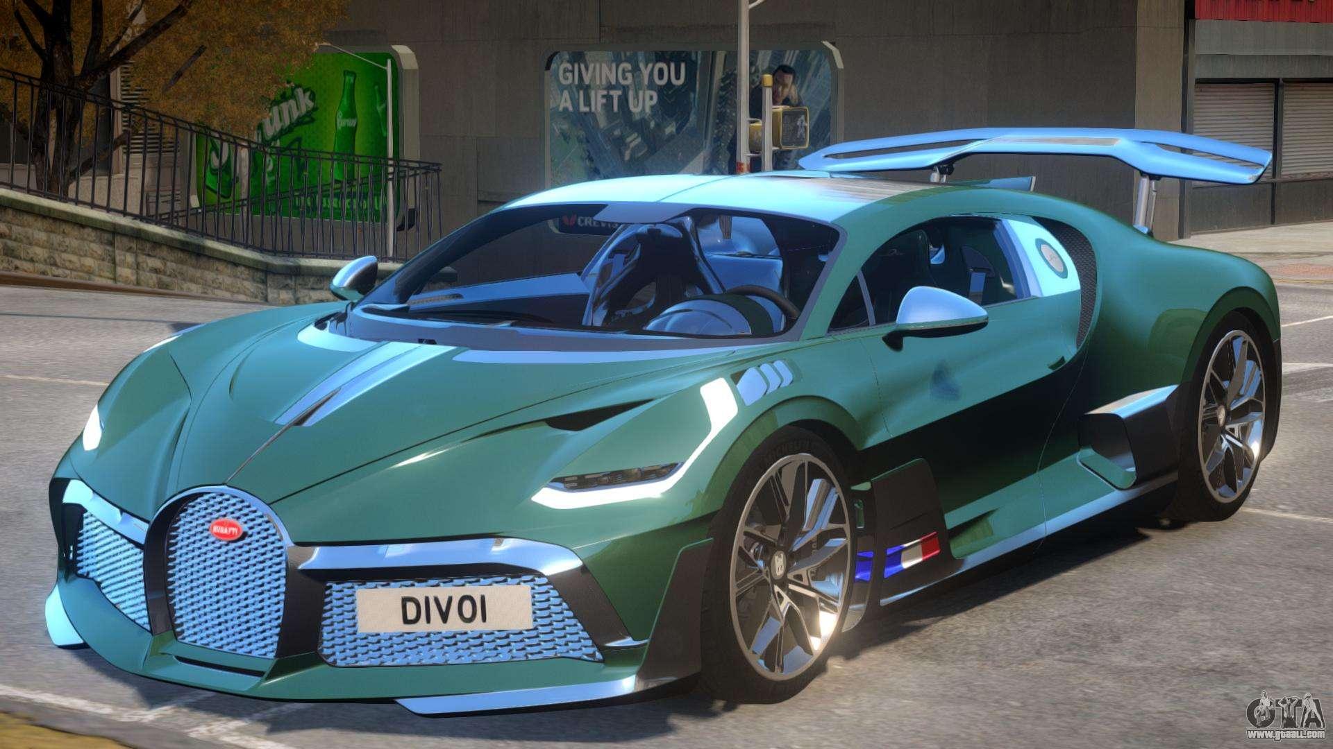 2019 Bugatti Divo For Gta 4