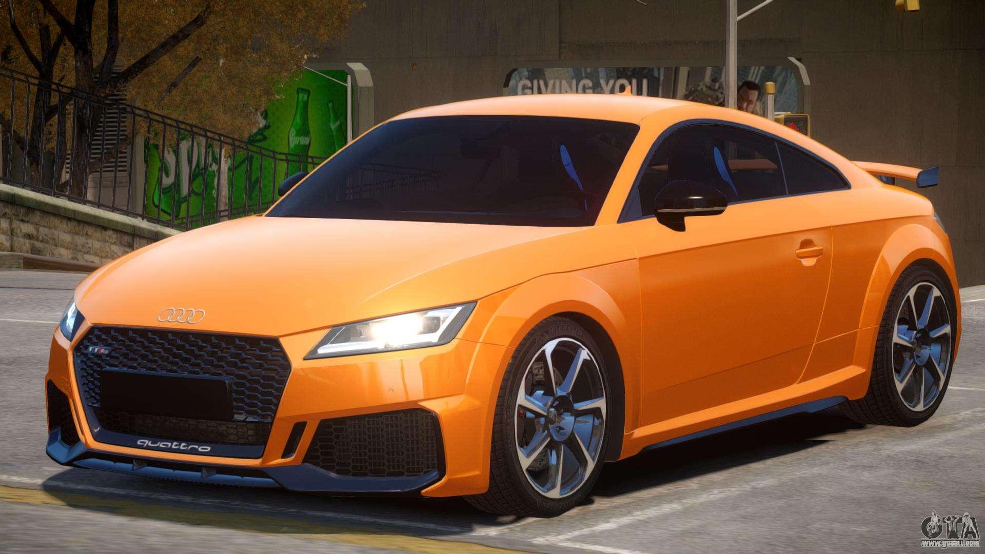 2019 Audi TT RS v1.2 for GTA 4