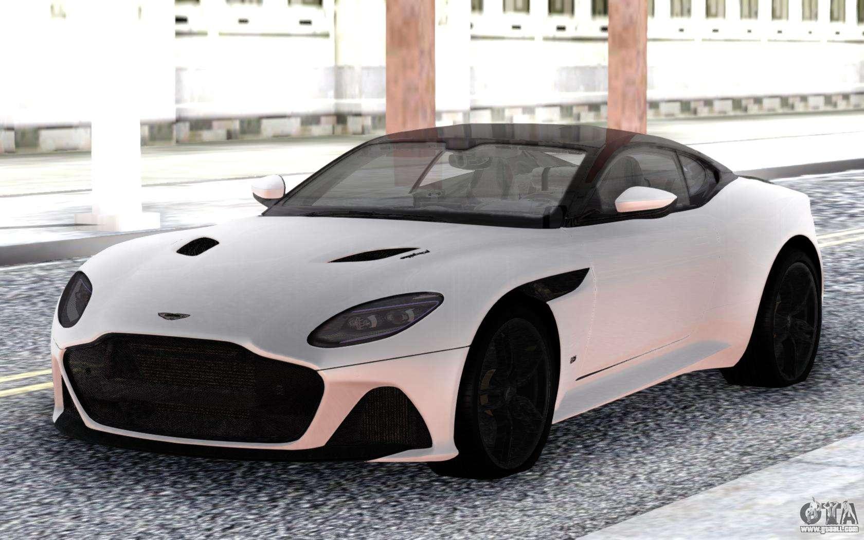 Aston Martin Dbs Superleggera 2019 White For Gta San Andreas