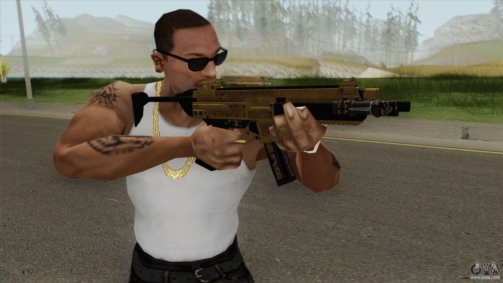 SMG Flashlight V1 (Luxury Finish) GTA V For GTA San Andreas