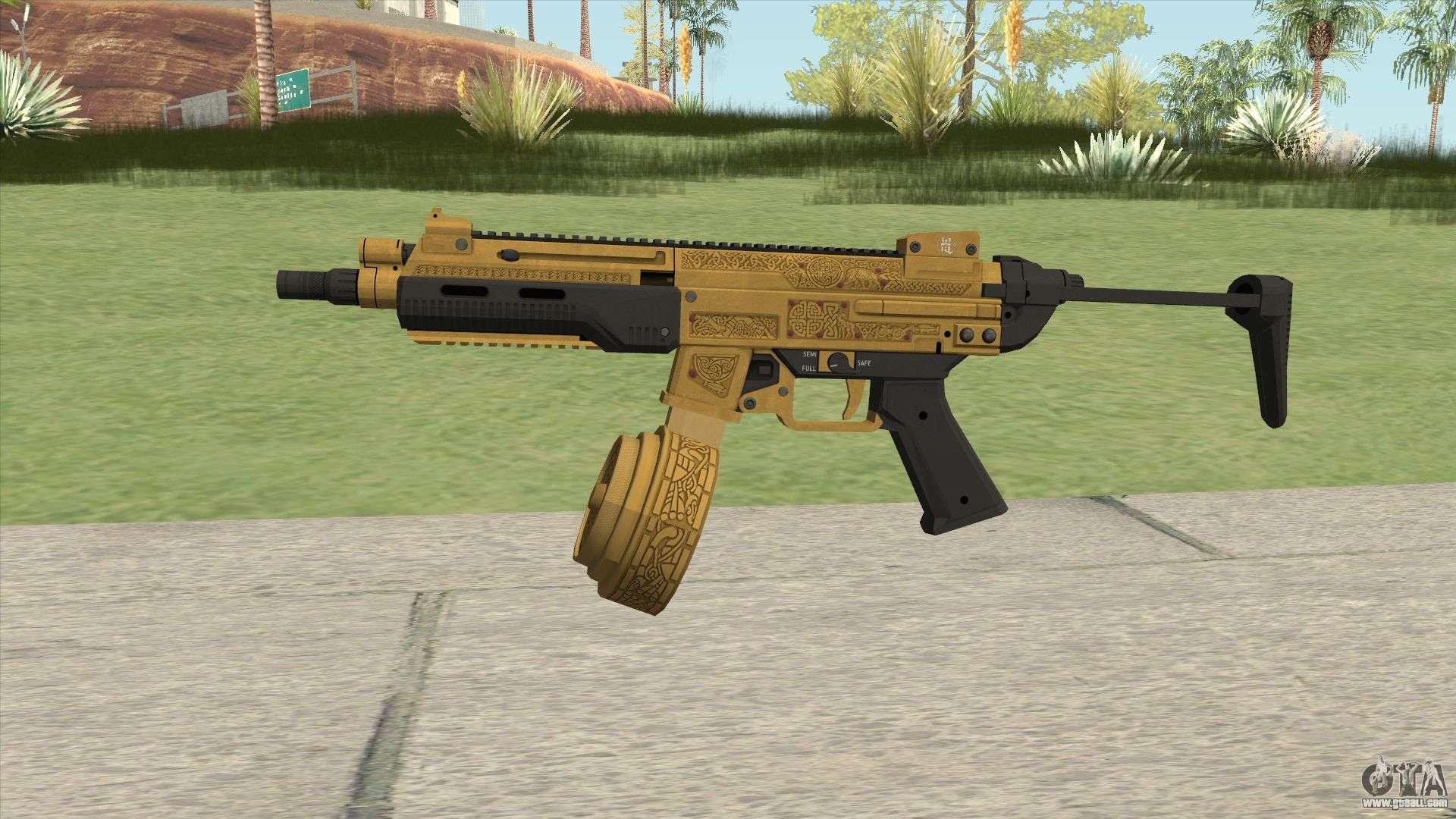 SMG Base V2 (Luxury Finish) GTA V For GTA San Andreas