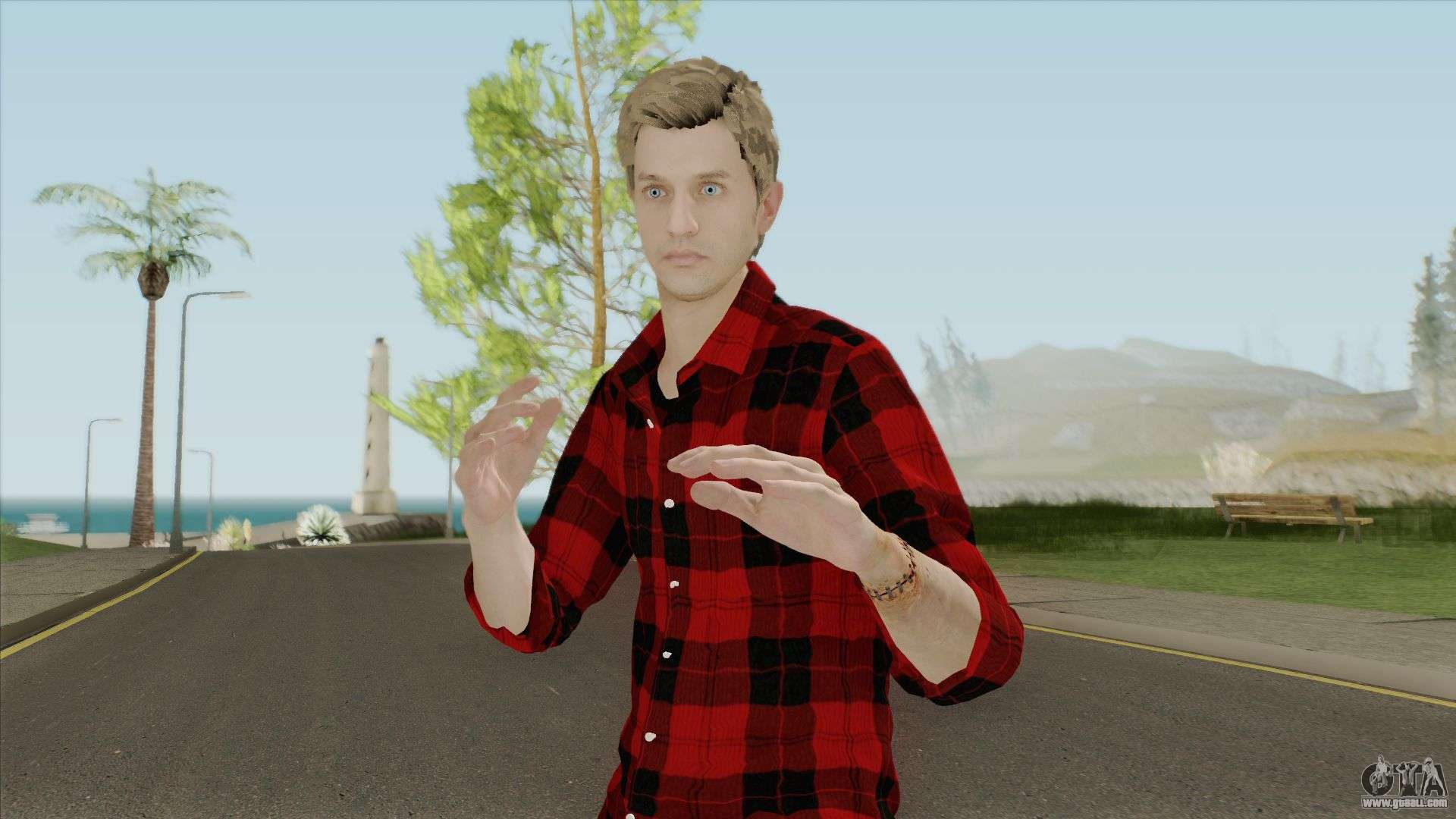 Ethan Winters Retextured V2 For GTA San Andreas