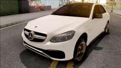 Mercedes-Benz E63 AMG White for GTA San Andreas