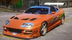 Toyota Supra Fast V1.1 for GTA 4
