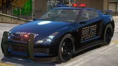 Annis Elegy RH8 Police for GTA 4