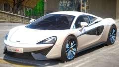 McLaren 570S R3 for GTA 4