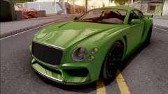 GTA V Enus Paragon R Green for GTA San Andreas
