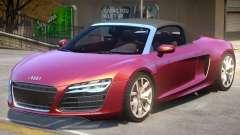 Audi R8 Spyder V2.2 for GTA 4