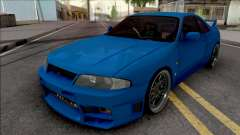 Nissan Skyline GT-R R33 for GTA San Andreas