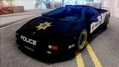 Lamborghini Diablo SV Police NFS Hot Pursuit