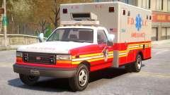 Vapid Ambulance Retro v1.1 for GTA 4