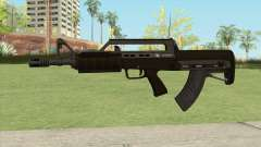 Bullpup Rifle (With Flashlight V1) GTA V for GTA San Andreas